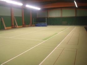 Tennishalli, korkeus