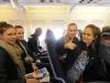 Lentokoneessa matkalla Mallorcalle