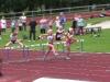 Jutta, Hertta ja Maarit 100m aidat Lieksa 29.7.2012
